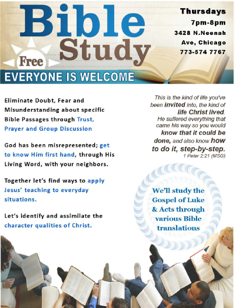 Bible Study groups in Chicago - Meetup